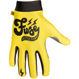 FUSE Omega Cafe Gloves, yellow